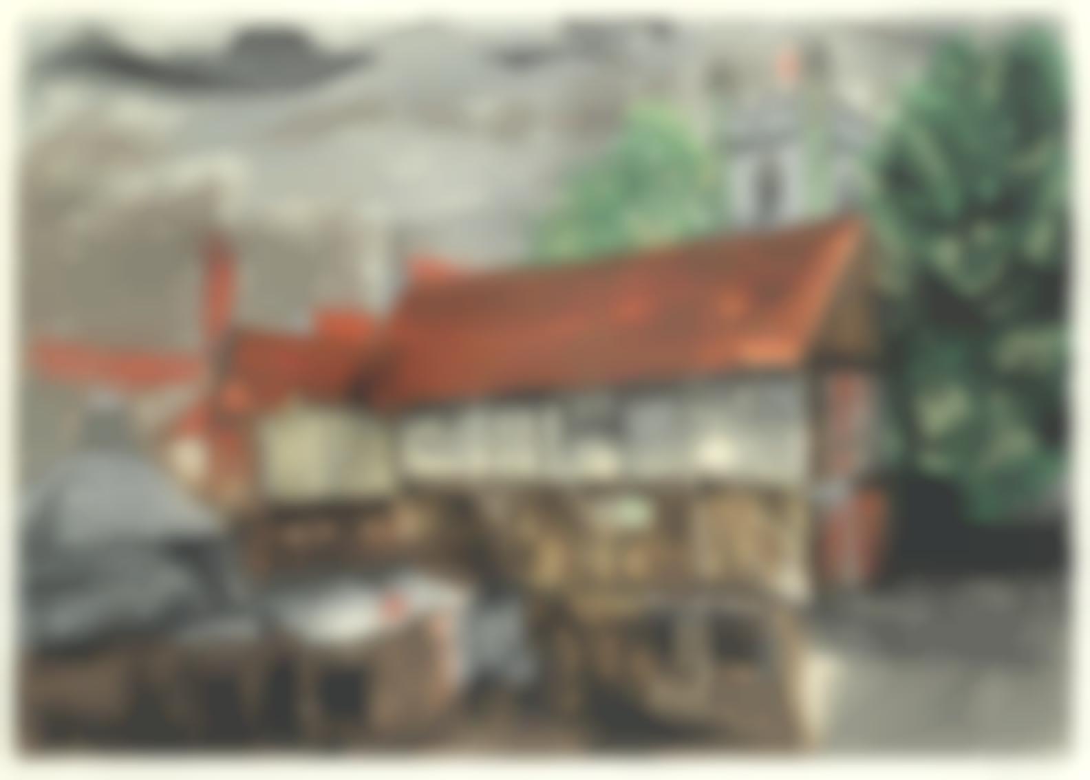John Piper-Chantry House, Henley (Levinson 352)-1983