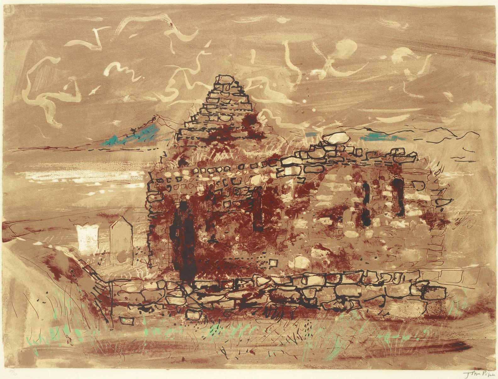 John Piper-Kilmory Chapel (Levinson 251)-1975