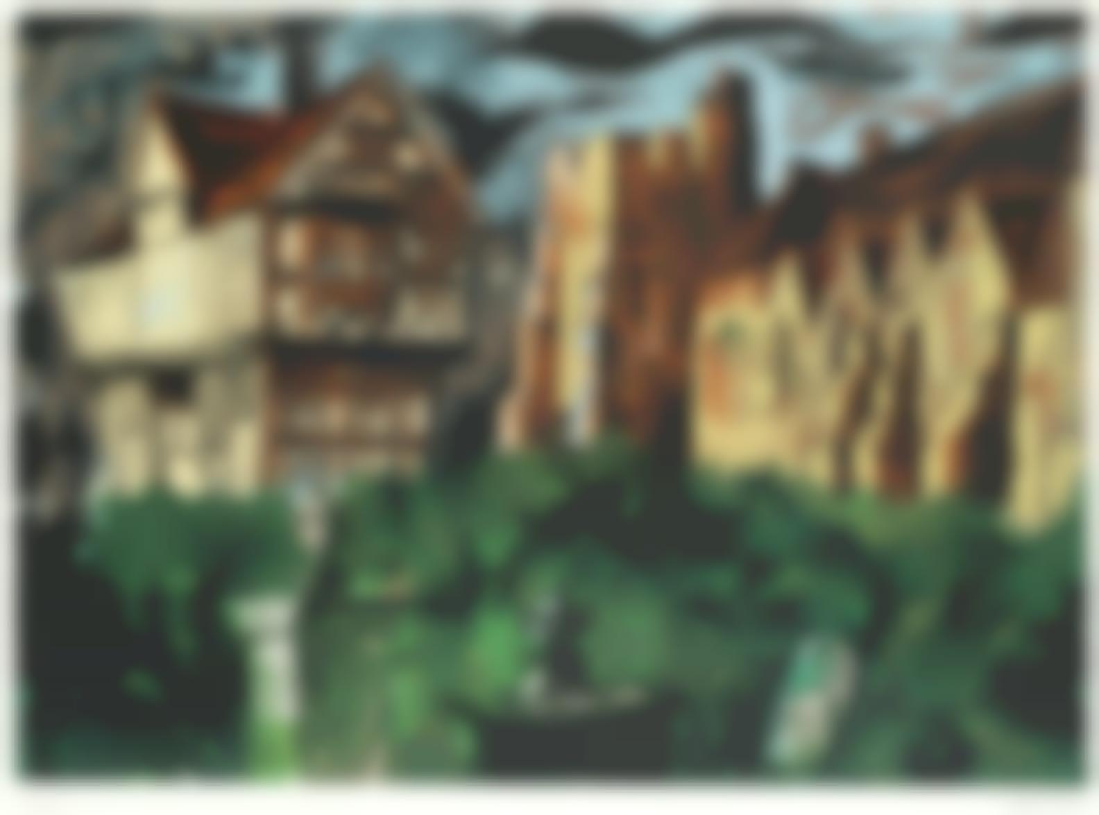 John Piper-Stokesay Castle (Levinson 321)-1981