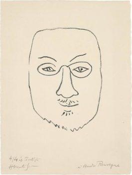 Henri Matisse-Henri Matisse, Masque (Mask)-1945