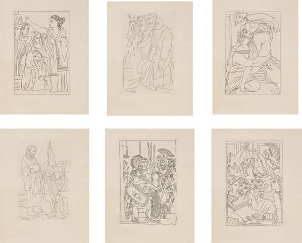 Pablo Picasso-Lysistrata-1934