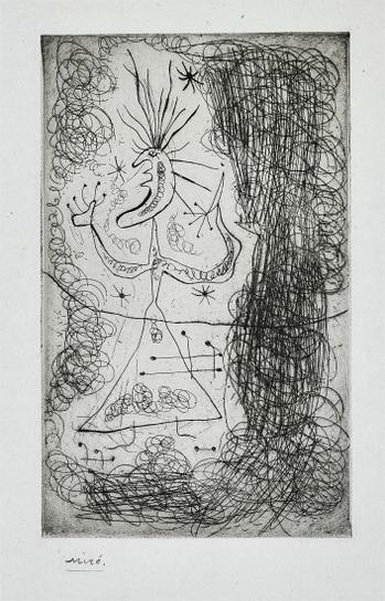Joan Miro-Untitled, From Fraternity-1939