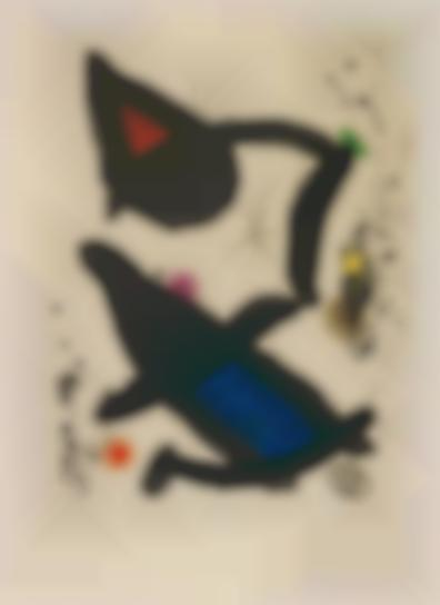 Joan Miro-Le Roi David (The King David)-1972