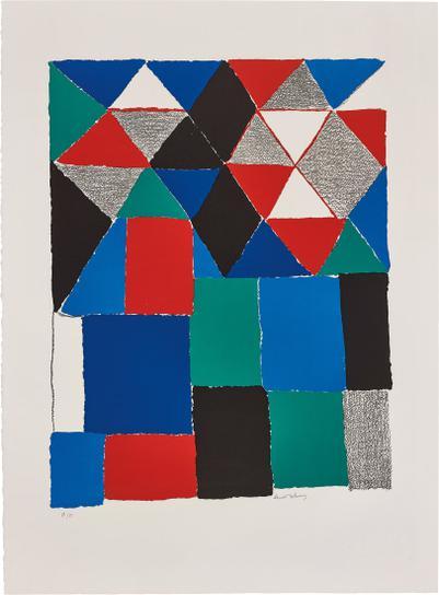 Sonia Delaunay-Ecossais (Scottish)-1970