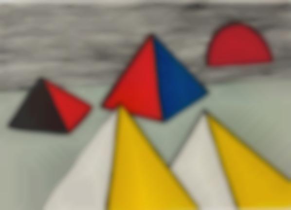 Alexander Calder-Untitled, From La Memoire Elementaire (Elementary Memory)-1976