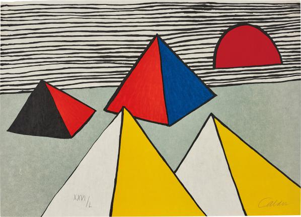 Alexander Calder-Untitled, From La Memoire Elementaire (Elementary Memory)-1976