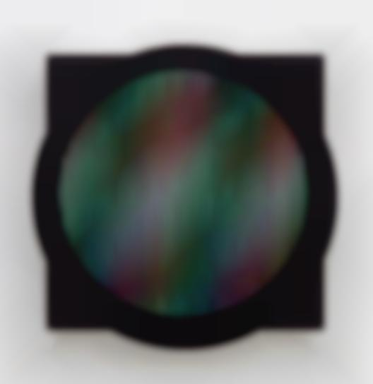 Carlos Cruz-Diez-Chromointerference Manipulable-1989