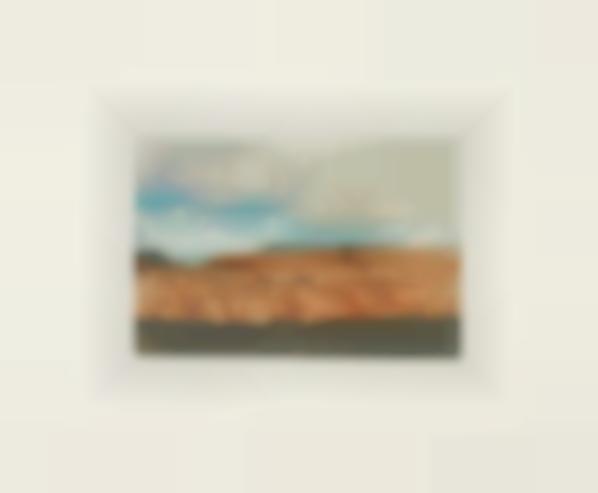Gerhard Richter-Kanarische Landschaften I (Canary Landscapes I): One Plate-1971