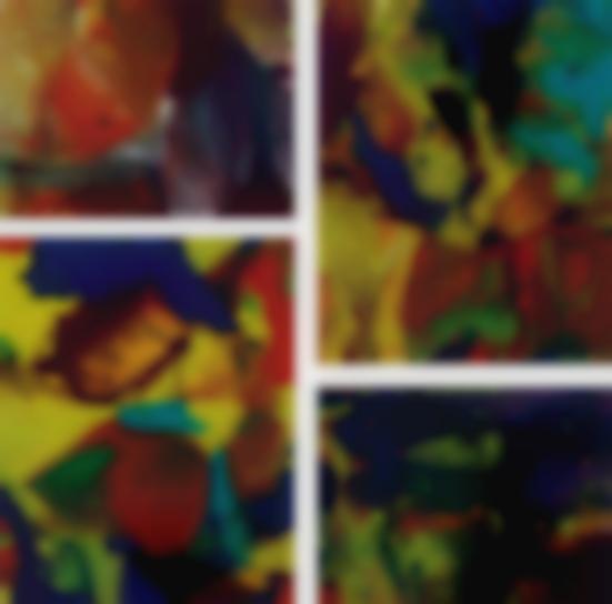 Gerhard Richter-Ifrit (P8); Bagdad (P9); Bagdad (P10); And Aladin (P11)-2014
