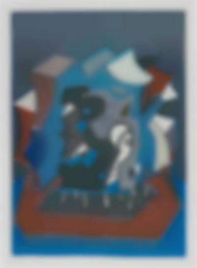 David Hockney-Tres (End Of Triple)-1990