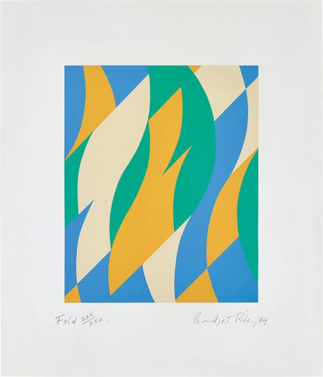 Bridget Riley-Fold-2004