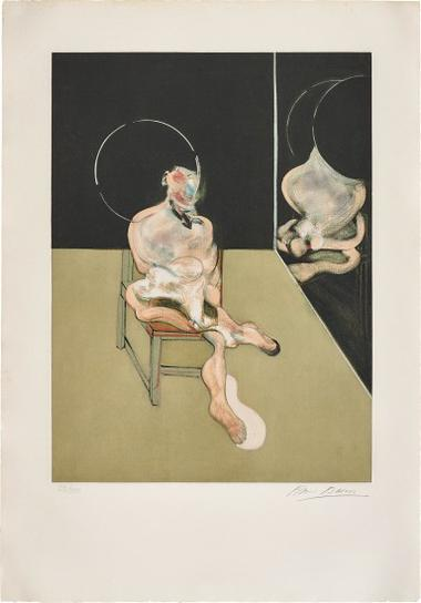 Francis Bacon-Seated Figure (After, Study For A Portrait 1981)-1983