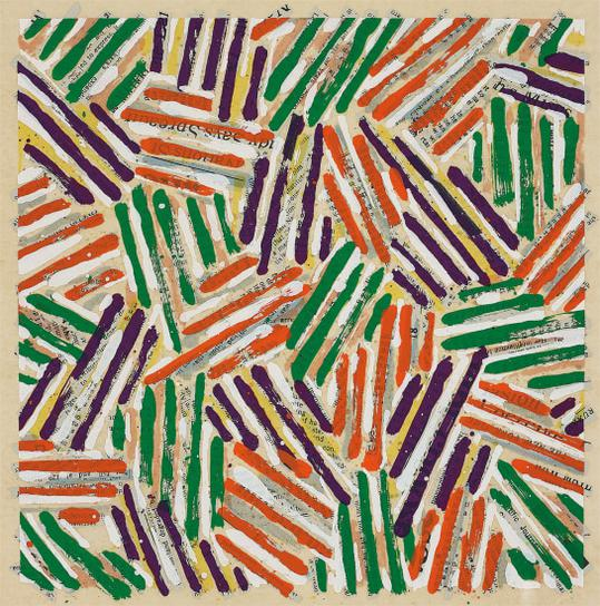 Jasper Johns-Untitled-1977