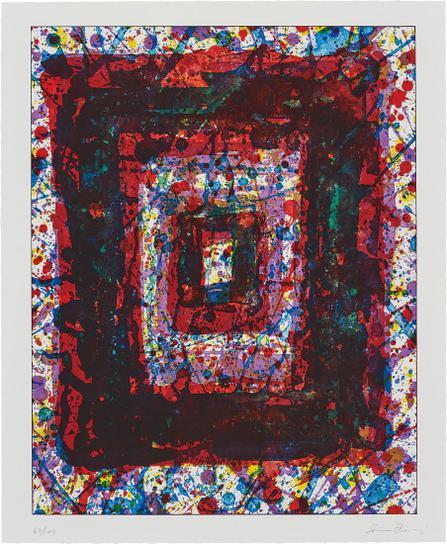 Sam Francis-Untitled, From Marginalia: Hommage To Shimizu-1979