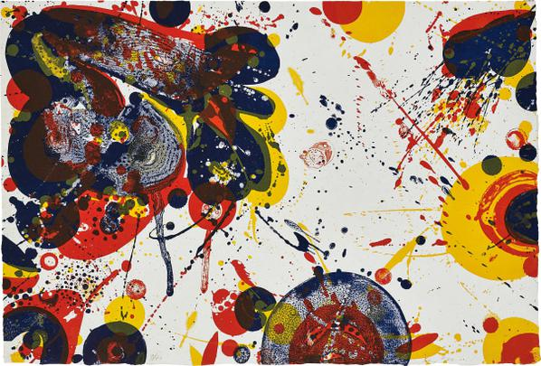 Sam Francis-Untitled-1964
