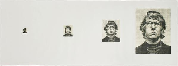 Chuck Close-Keith/Four Times-1975