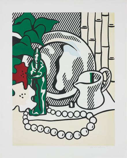 Roy Lichtenstein-Still Life With Figurine, From Six Still Lifes Series-1974