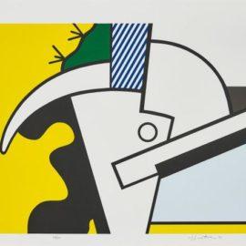Roy Lichtenstein-Bull Head Ii, From Bull Head Series-1973