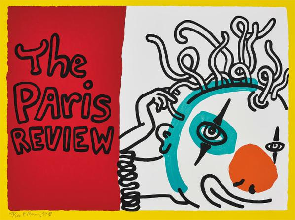 Keith Haring-The Paris Review-1989