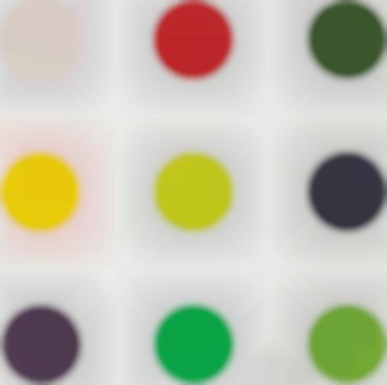 Damien Hirst-Phenformin, From 12 Woodcut Spots-2010