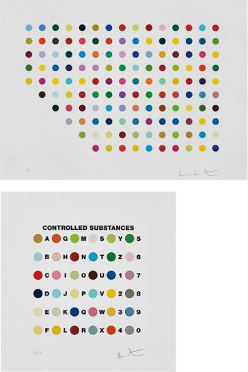 Damien Hirst-Meprobamate; And Controlled Substances Key Spot-2011