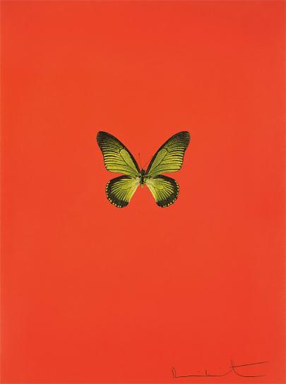 Damien Hirst-New Beginnings: One Plate-2011