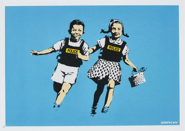 Banksy-Police Kids (Jack And Jill)-2005