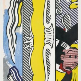 Roy Lichtenstein-Two Paintings: Dagwood, From Paintings Series-1984