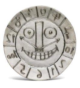 Pablo Picasso-Horloge Aux Chiffres (Clock With Figures)-1956