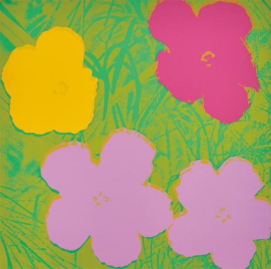Andy Warhol-Flowers-1970