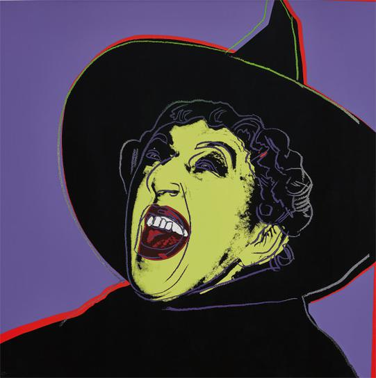 Andy Warhol-The Witch, From Myths-1981