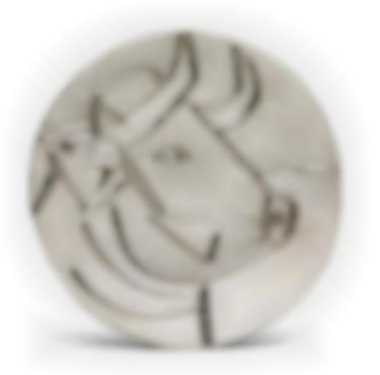 Pablo Picasso-Tete De Taureau (Bulls Head)-1956