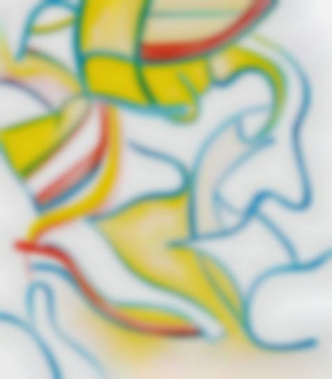 Willem de Kooning-Quatre Lithographies (Four Lithographs): One Plate-1986