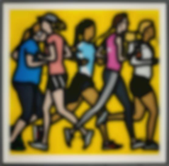 Julian Opie-Running Women, From Runners-2016