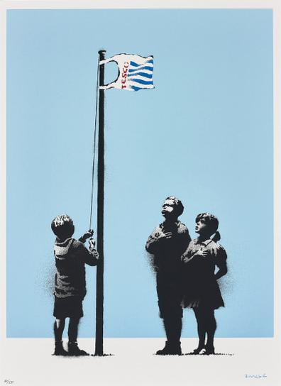 Banksy-Very Little Helps-2008