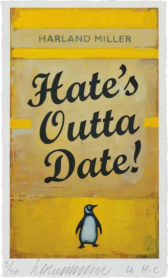 Harland Miller-Hates Outta Date-2017