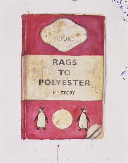 Harland Miller-Rags To Polyester-2014