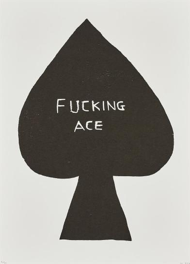 David Shrigley-Fucking Ace-2016