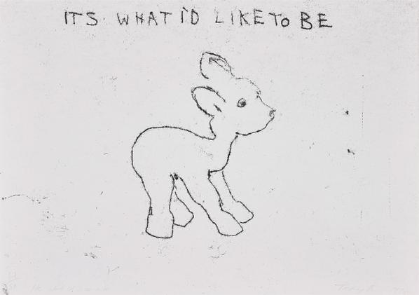 Tracey Emin-Its What Id Like To Be, From 10 Supastore Supastars-1998