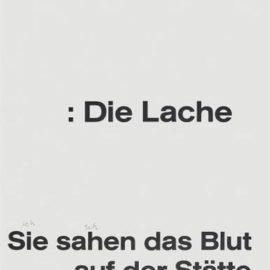 Joseph Beuys-History, From Dem Frieden Eine Form Geben (Give Peace A Shape)-1985
