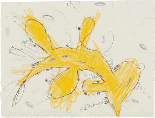 Carroll Dunham-Untitled-1988