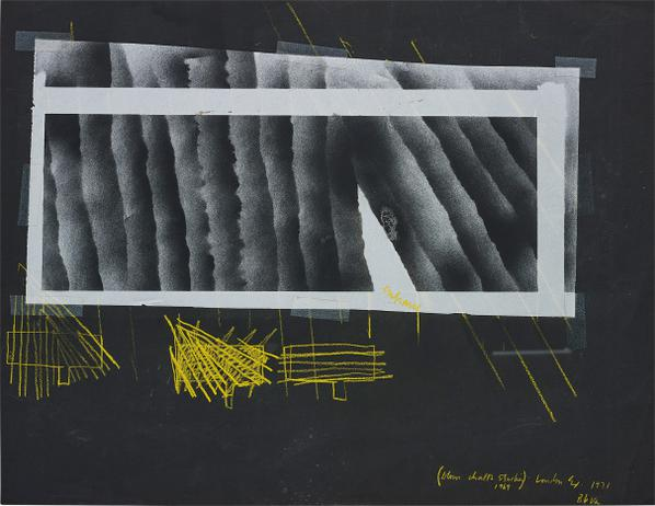 Barry Le Va-(Blown Chalk Studies 1969) London Ex.-1971