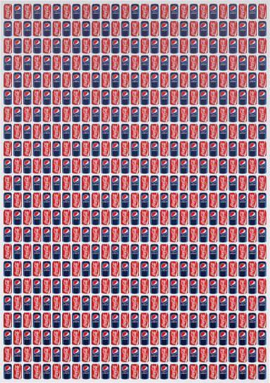 Jonathan Horowitz-Coke / Pepsi (594 Cans)-2011