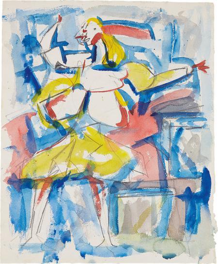 Jack Tworkov-Study For Nausica-1952