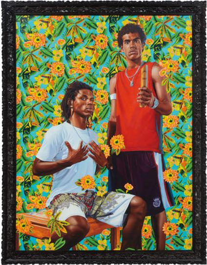Kehinde Wiley-Untitled (The World Stage: Brazil)-2012