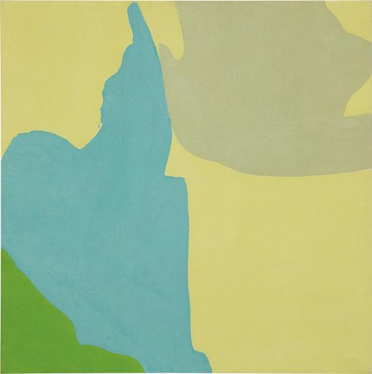 Friedel Dzubas-Flowering II-1963
