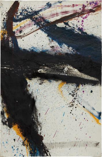 Norman Bluhm-Untitled (X)-1964
