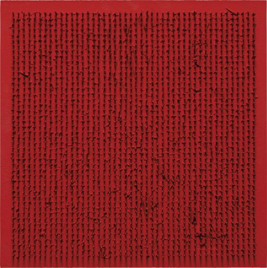 Bernard Aubertin-Tableau Clous-1969