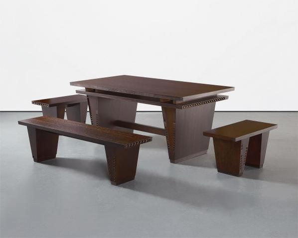 Thomas Schutte-Table And Benches-2005