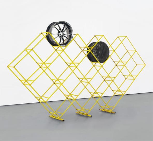Cyprien Gaillard-Untitled (Rim Structure)-2011